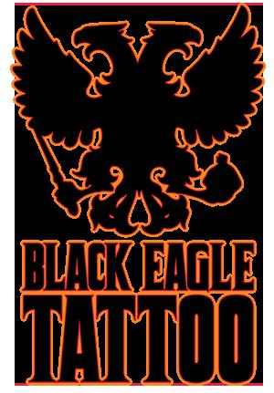 Black eagle tattoo for Black eagle tattoo shop